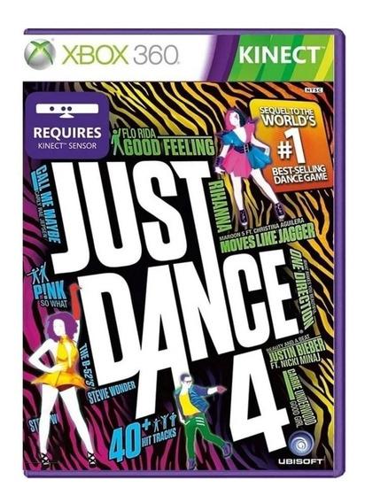 Just Dance 4 Original Xbox 360