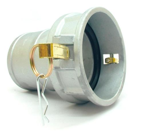 Imagem 1 de 2 de Engate Rápido 4 Polegadas C Alumínio Femea Plug Mang. 4