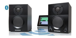 Monitores Activos Samson Mediaone Mbt3 Bluetooth Dj/pc Par