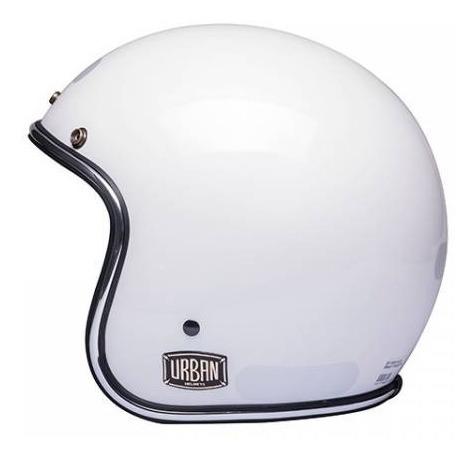 Capacete Urban - Flack Branco Titanium Iii Tam 56