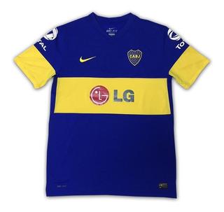 Camisa Nike Boca Junior 2013 Oficial Semi Nova