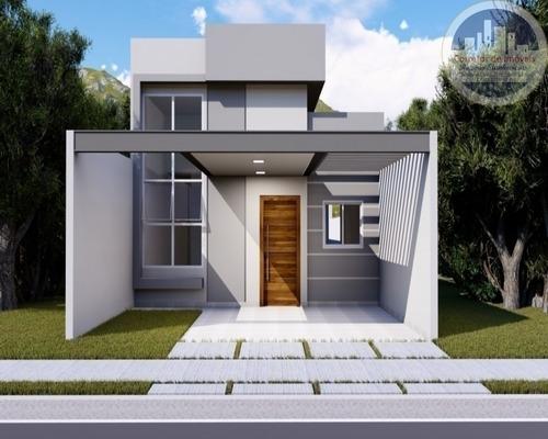 Casa No Condominio Jardim Montreal Residence Com 3 Dormitorios Sendo 1 Suite - Ca00027 - 67633388