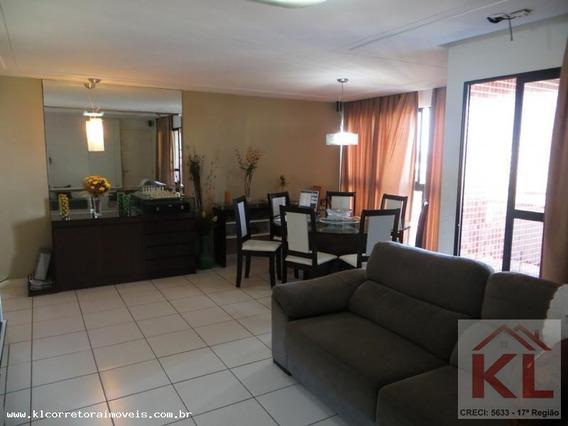Apartamento Para Venda Em Natal, Candelária, 4 Dormitórios, 2 Suítes, 4 Banheiros, 3 Vagas - Ka 0843