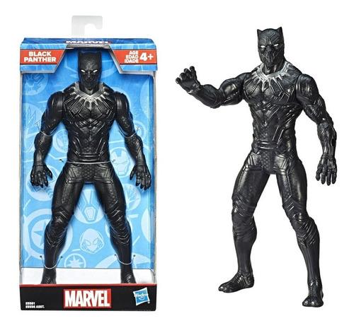 Muñeco Pantera Negra Hasbro 25cm.  Giro Didáctico