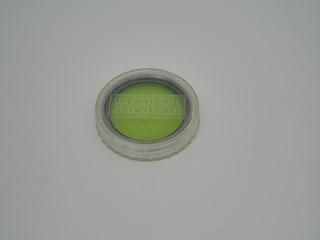 Filtro Vintage Yashica 46 Mm Verde Aro Prata Silver C Estojo