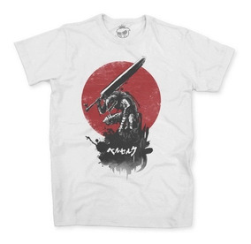 Camisa Camiseta Berserk Manga Anime Japan Geek