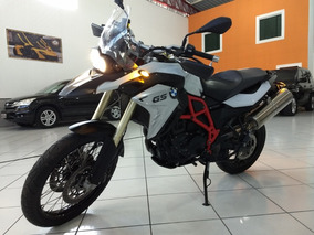Moto Bmw F800 Gs 2017 Branca Abs Acess 7600 Km