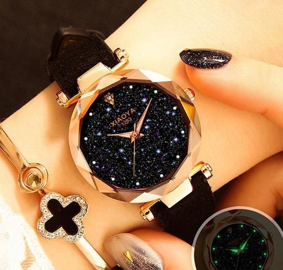 Relógio Importado Barato Feminino Céu Estrelado