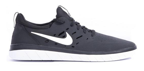 Tênis Nike Preto E Branco Nyjah Free