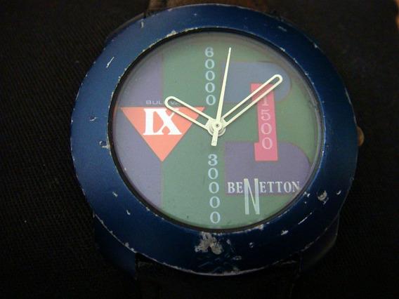 Reloj Benetton By Bulova. Colección 90s.