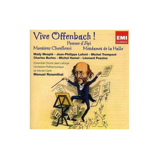 Rosenthal / Monte-carlo Phil Orch Vive Offenbach Cd X 2