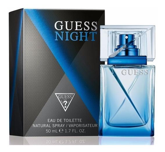 Perfume Guess Night Masculino 50 Ml - Lacrado - Selo Adipec