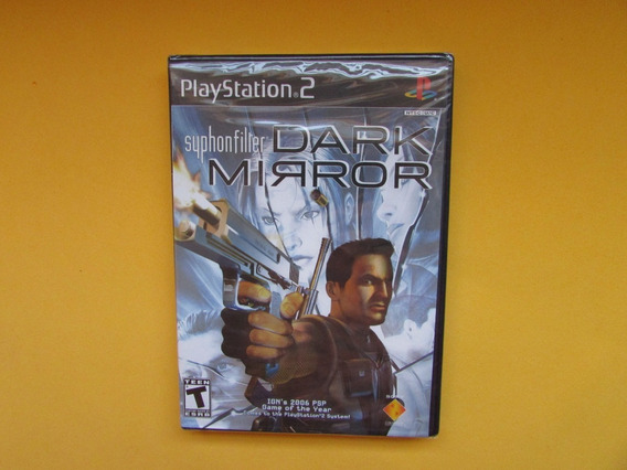 Syphon Filter Dark Mirror Original Lacrado Para Playstation 2
