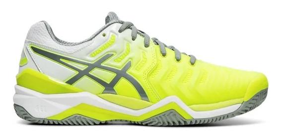 Tenis Asics Gel Resolution 7 Feminino - Amarelo
