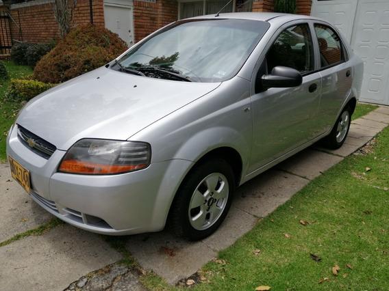Chevrolet Aveo Ls 4p 1.6 A.a 2012
