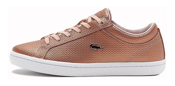 Zapatillas Urbanas Lacoste Straight Set Mujer / Brand Sports
