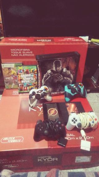 Xbox 360 E Ps2 Om Jogos Em Troca De Ps4 Ou Xbox One