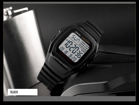 Relógio Digital 5 Alarmes A Prova Dágua Skmei 1278