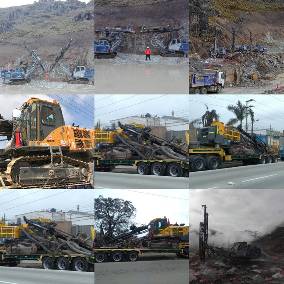 Rock Drill - Perforadora Hidraulica