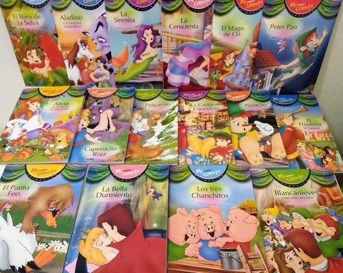 Lote 16 Libros Infantiles - Pequeños Cuentos Clasicos Betina