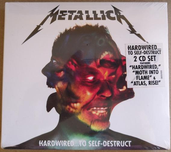 Cd Duplo Metallica Hardwired