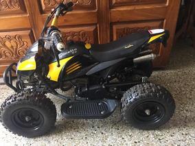 Moto 4 Ruedas De Niños A Gasolina