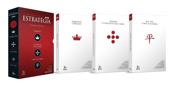 Box O Essencial Da Estratégia 3 Volumes