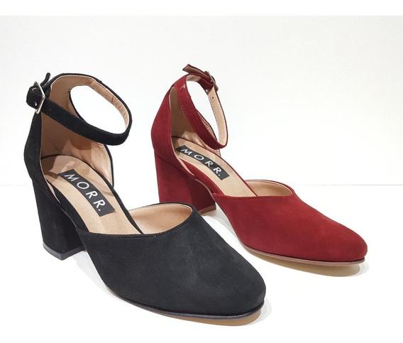 Sandalias De Fiesta Mujer Gamuza - Zapatos Morr7030ad