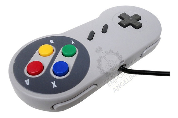Controle Super Nintendo Usb P/ Pc Windows Retropie Recalbox