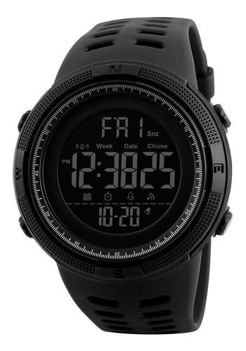 Imagen 1 de 7 de Reloj Hombre Skmei 1251 Crono Alarma Timer Sumergible Molts