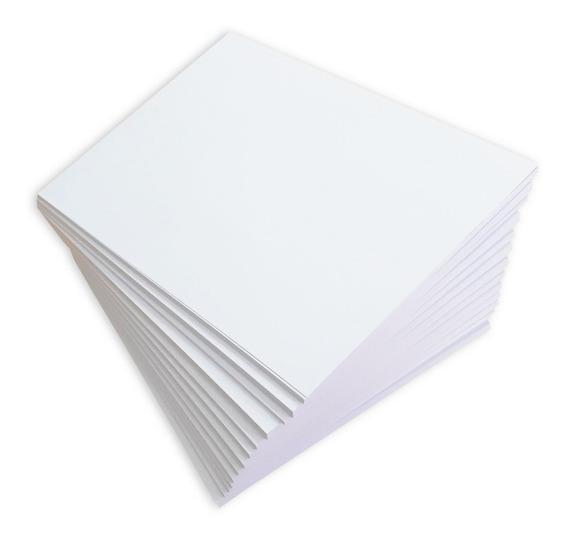100 Fls Papel Sulfite 180g A3 Cartolina Branca 180 180gr