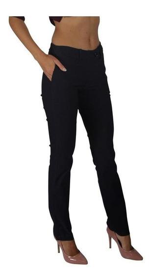 Pantalón Para Mujer De Vestir Formal Marino Cómodo