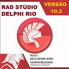 Embarcadero Rad Studio 10.3 Rio Architect + 10 Componentes