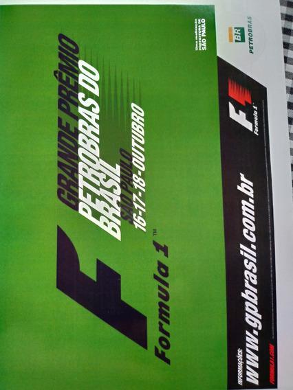 Revista Programa Oficial Do Grande Prêmio Brasil F1 2009