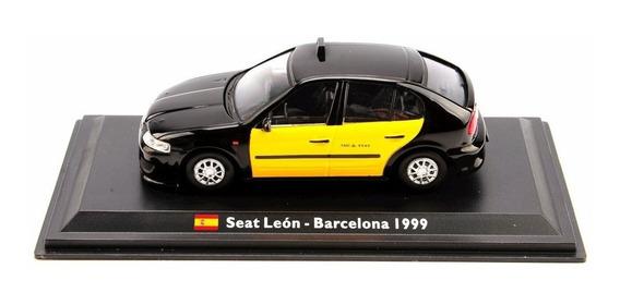 Seat Leon Taxi Barcelona 1999 1/43