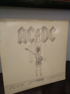 Disco De Vinyl Acdc Ac/dc Flick Of The Switch. Original