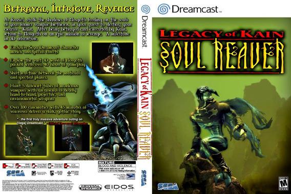 Legacy Of Kain Soul Reaver Patch - Dreamcast E Pc