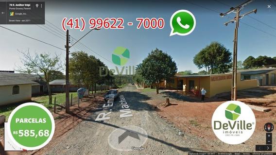 Terreno A Venda No Bairro Chapada Em Ponta Grossa - Pr. - 240-1