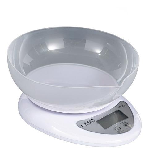 Imagen 1 de 6 de Balanza Digital De Cocina A Pilas Tara 1gr 5kg Bowl Ditron