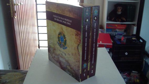 Lançamento Box Com 2 Volumes Para Moedas Por Tipo Completo