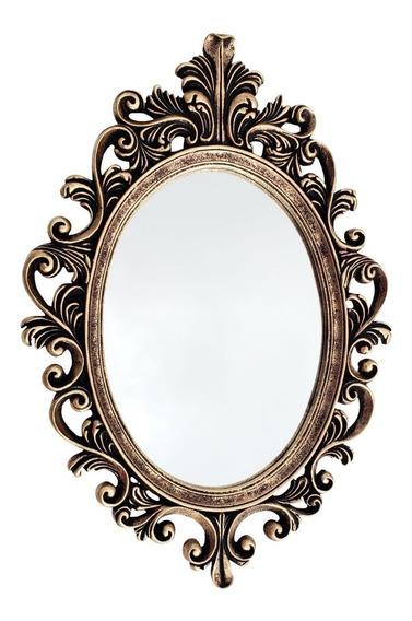 Espelho Grande Para Banheiro Quarto Sala Moldura Provençal