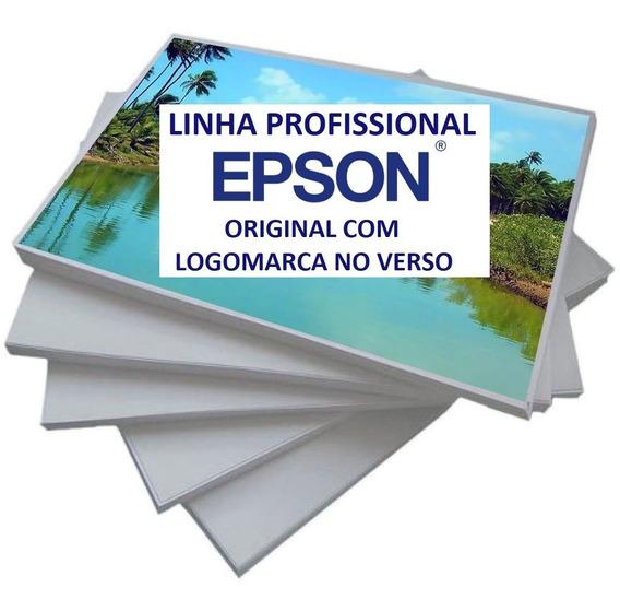 3000 Papel Fotográfico Epson Original 10x15 Com Logo Epson