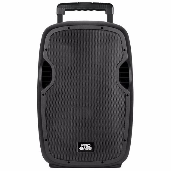 Caixa Ativa Pro Bass Underground 15 Com Bateria Bivolt