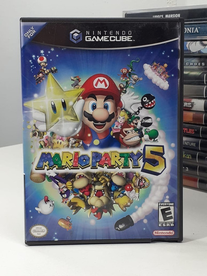 Mario Party 5 Nintendo Gamecube Original Americano Semi Novo