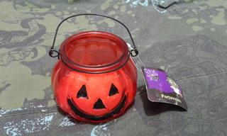 40 Dijes Calabaza de Halloween a granel Tono Plata Antigua HC176