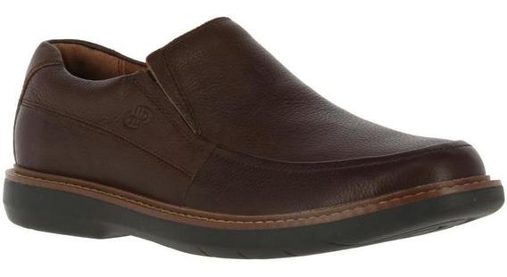 Zapatos Hombre Hush Puppies Oregon Burgundy Comfort Flex