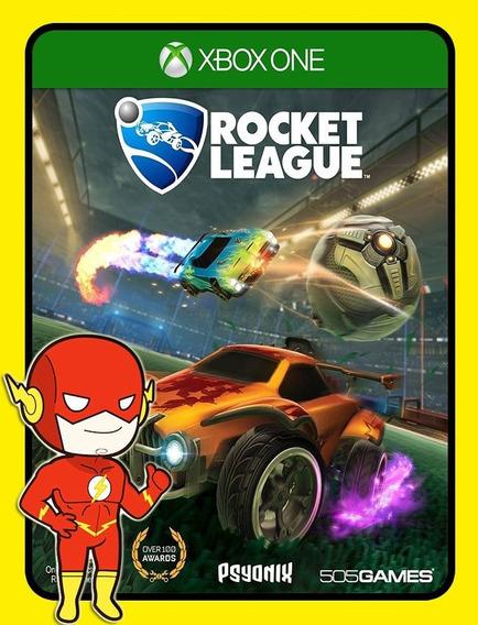 Rocket League Xbox One - 25 Dígitos (envio Flash)