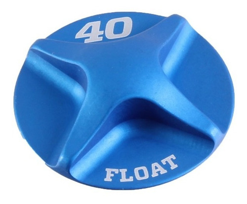 Fox Shox Air Cap, 40mm Float - Blue
