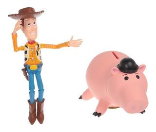 Toy Story 4 Figuras Woody Y Hamm , 2019
