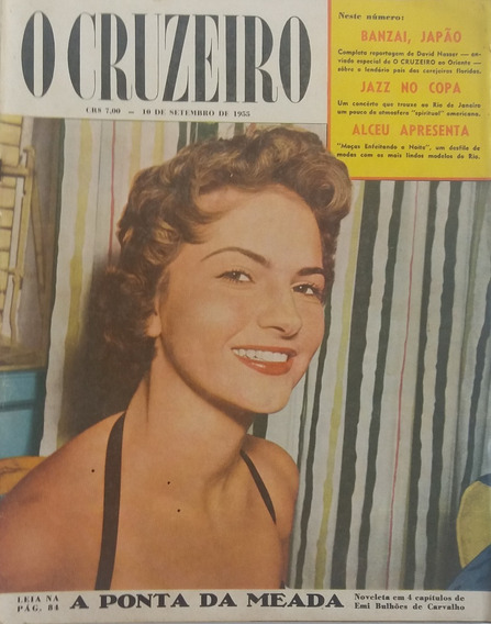 Revista O Cruzeiro 1955 - Aniversario Da Radio Farroupilha